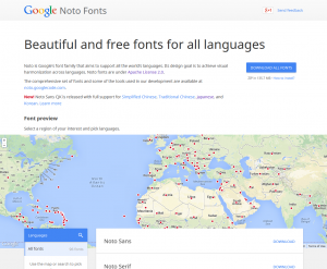 Google Noto Fonts